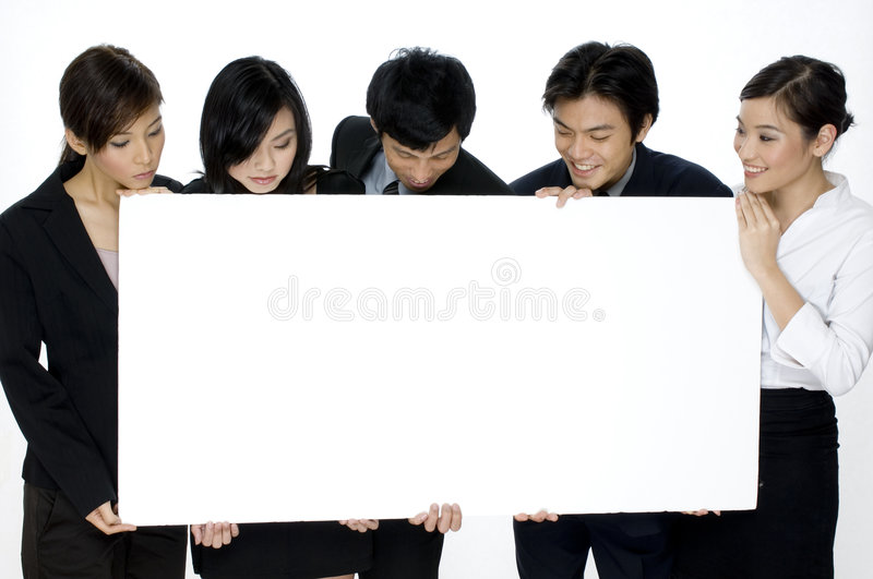 Download Business Sign stock photo. Image of business, young, confidence - 1410956