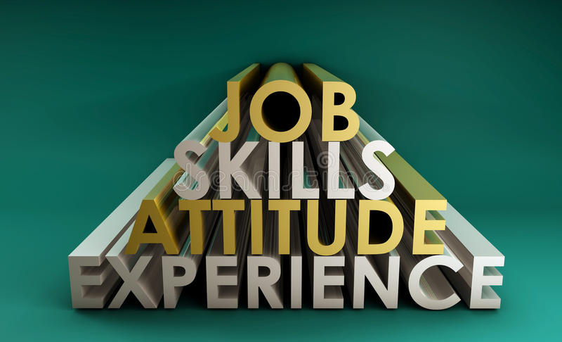 Business Skills vector illustration