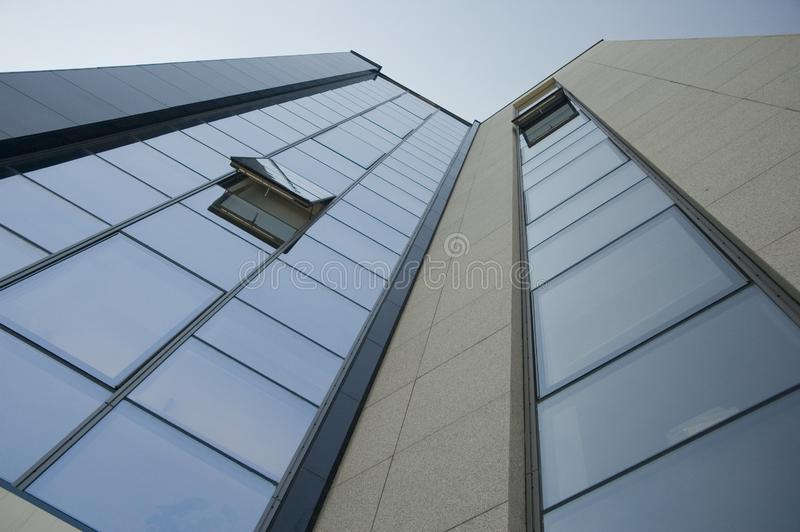 Business skyscraper made of gl royalty free stock photo