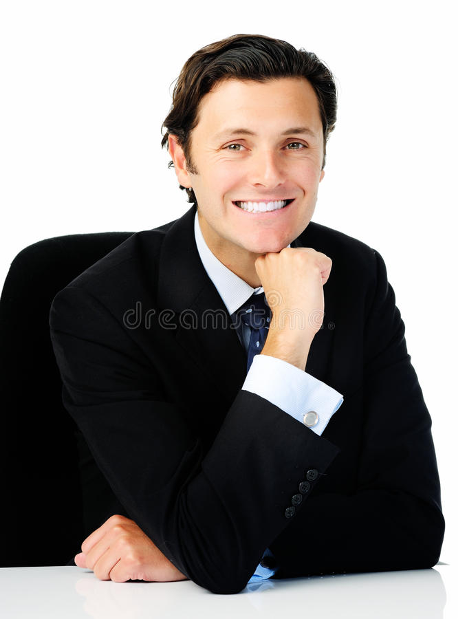 Download Business smile stock image. Image of occupation, necktie - 22749619