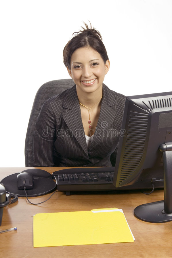 Business with a smile royalty free stock photography