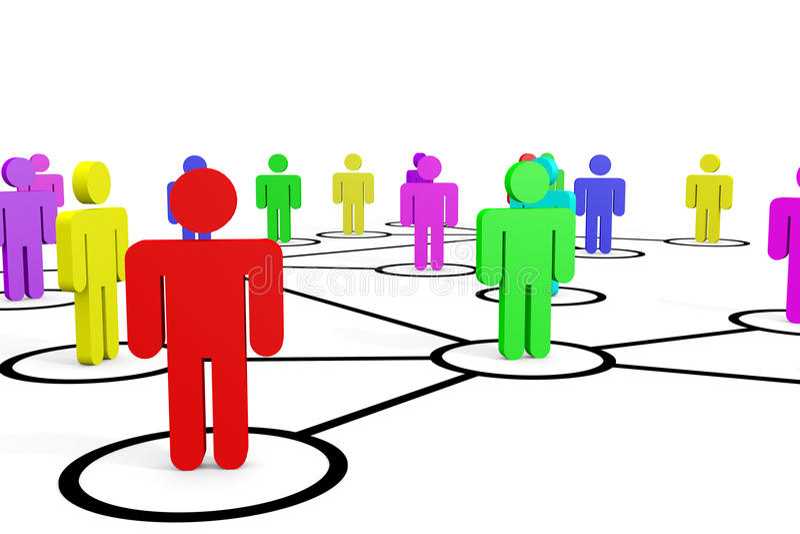 Download Business Or Social Network. Concept. Stock Illustration - Image: 23555535