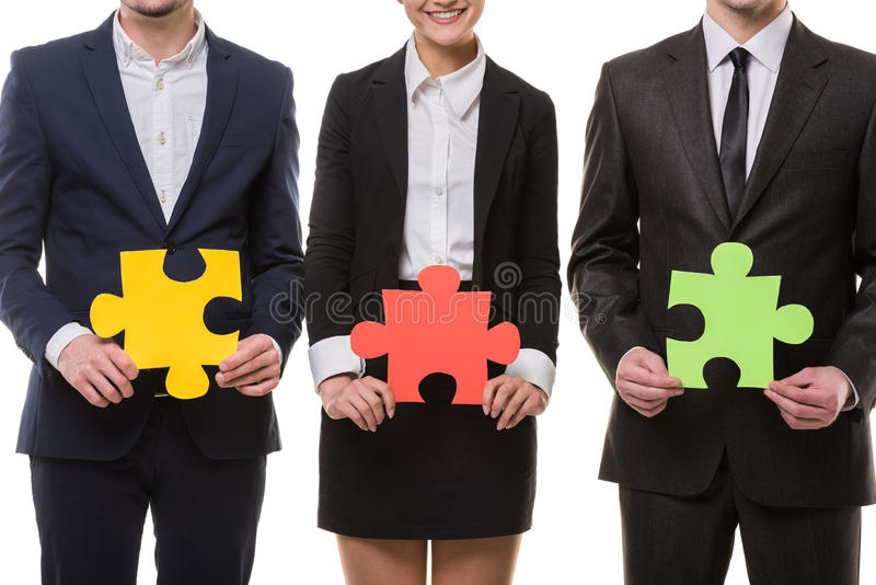 Business solution royalty free stock image