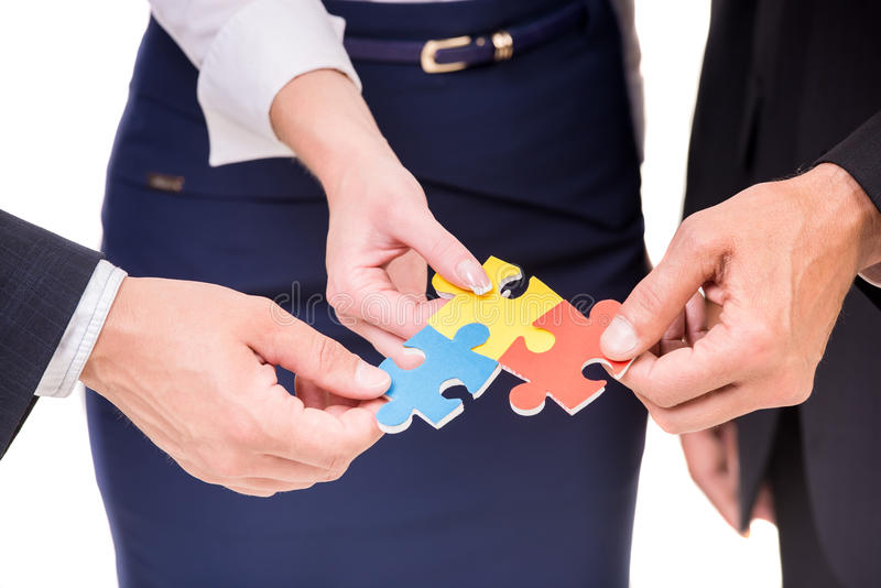 Business solutions royalty free stock photo