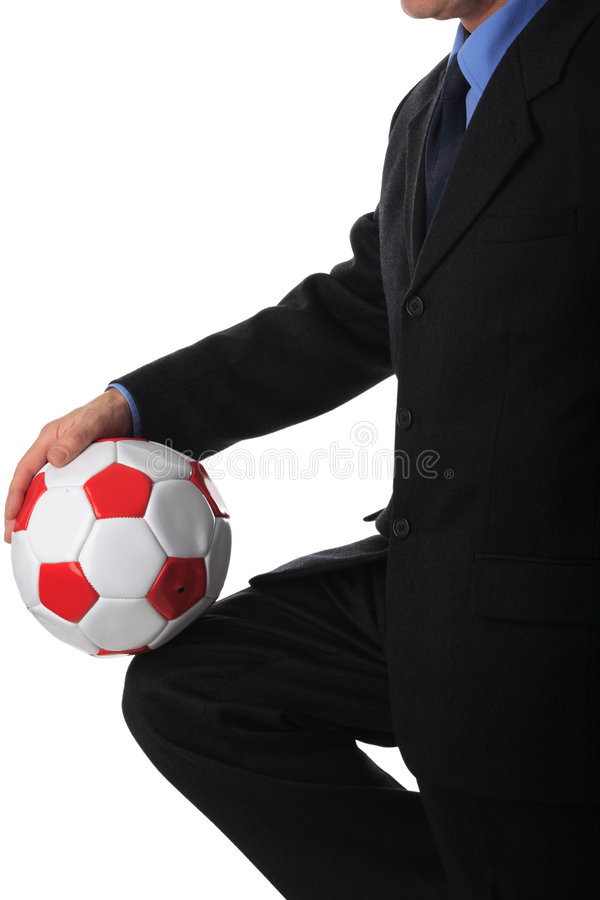 Business and sport royalty free stock photo