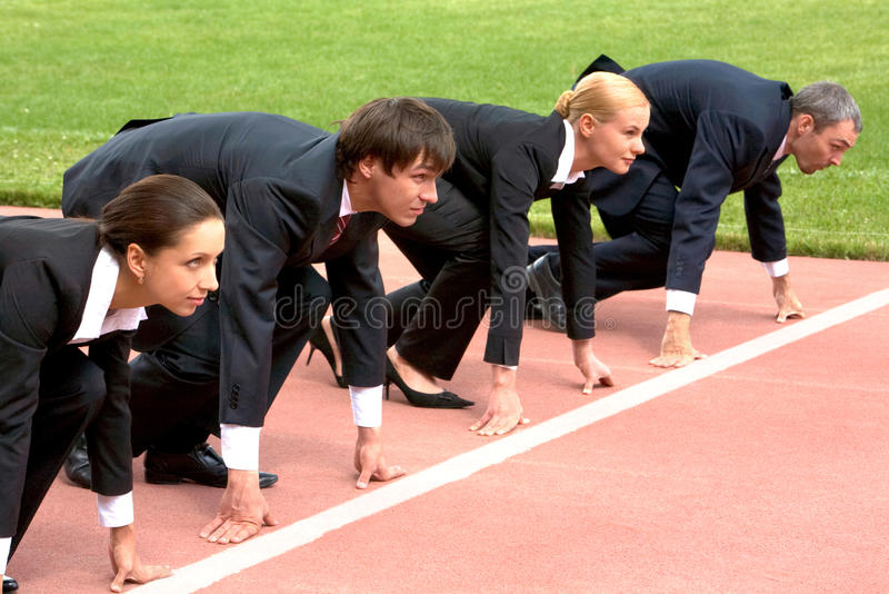 Business start stock photography
