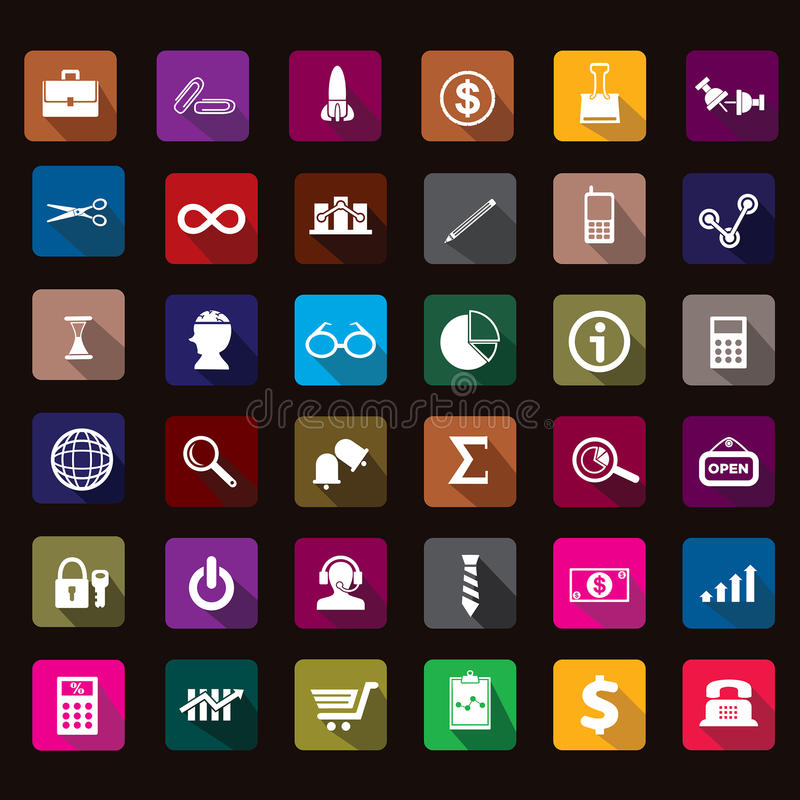 Business. Start-up, flat icons, colored icons , icon stock illustration