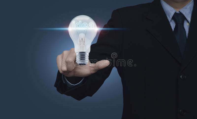 Business start up idea concept royalty free stock photography
