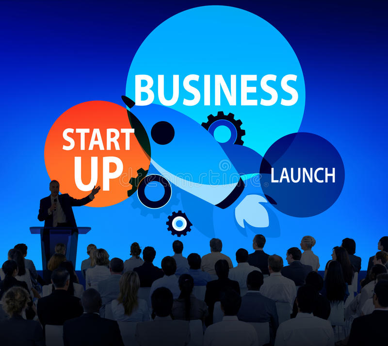 Business Start up Launch Opportunity Corporate Concept vector illustration