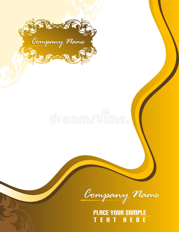 Download Business Stationery 8.5x11. Stock Vector - Image: 4668607