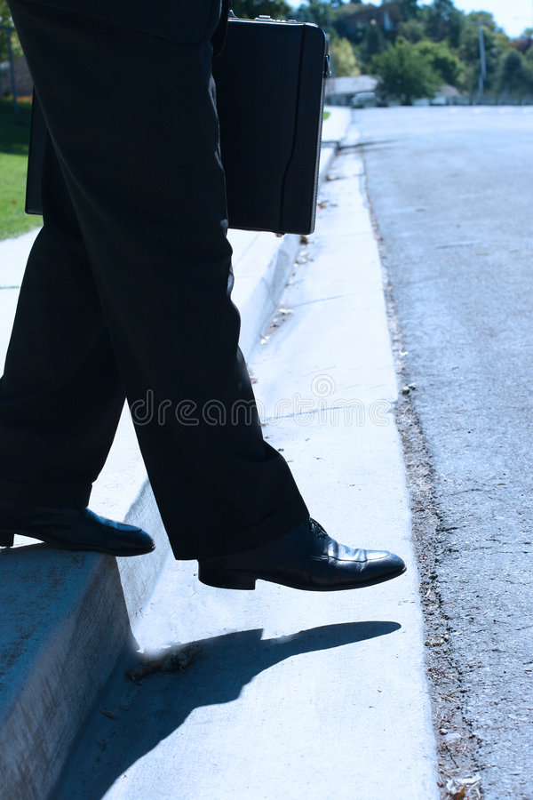 Business Step stock image