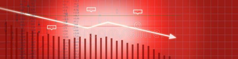 Business stock market background royalty free stock image