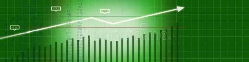 Business stock market background royalty free stock photos
