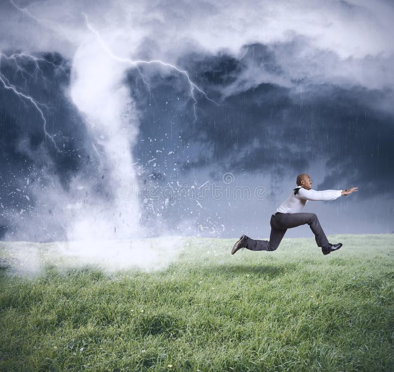 Business storm stock images