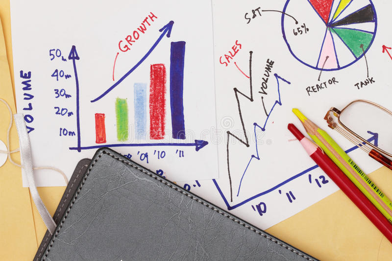 Business strategy abstract royalty free stock image