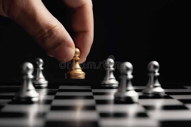 Business strategy concept royalty free stock image