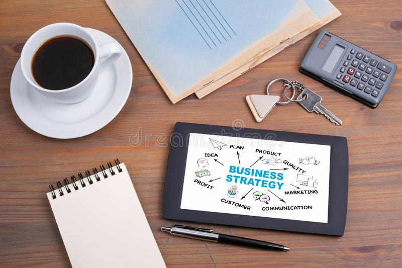 Business strategy, investment Concept royalty free stock photos