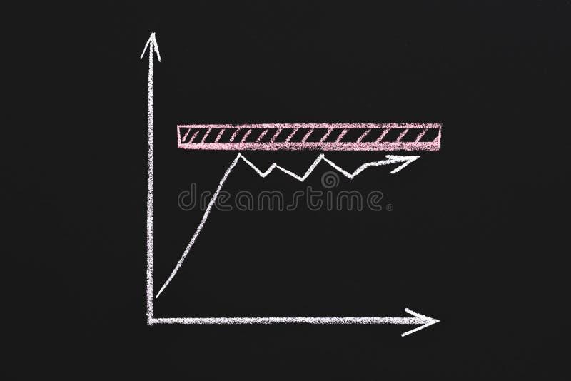 Business strategy slow progress bad management stock photo