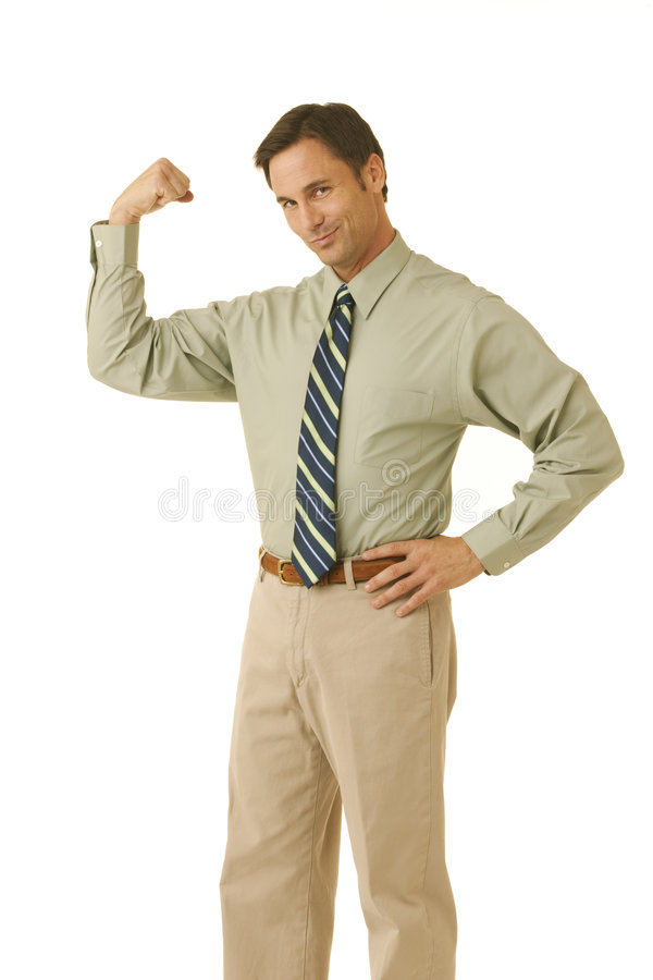 Download Business strength. stock photo. Image of shot, happy, concepts - 7949364