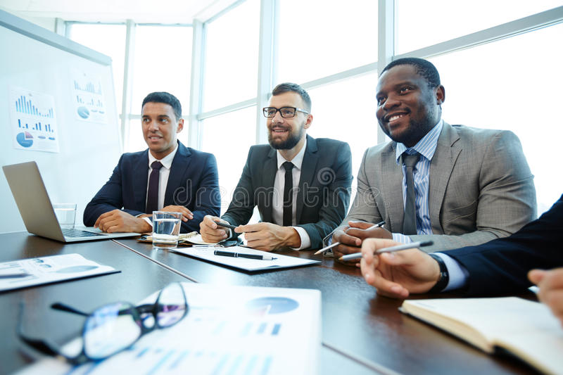 Business studies stock images