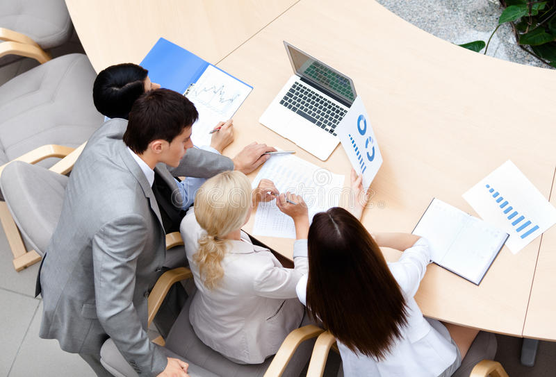 Download Business Stuff At The Meeting Stock Photo - Image: 26983902