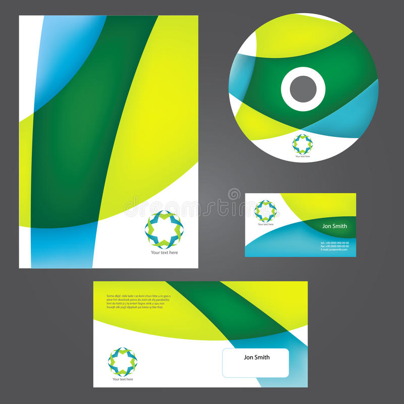Business style templates.