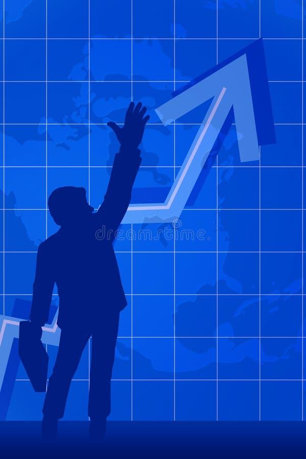 Business succes vector illustration