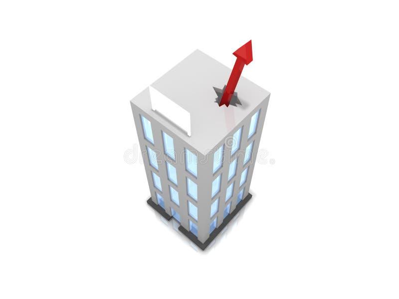 Business success vector illustration