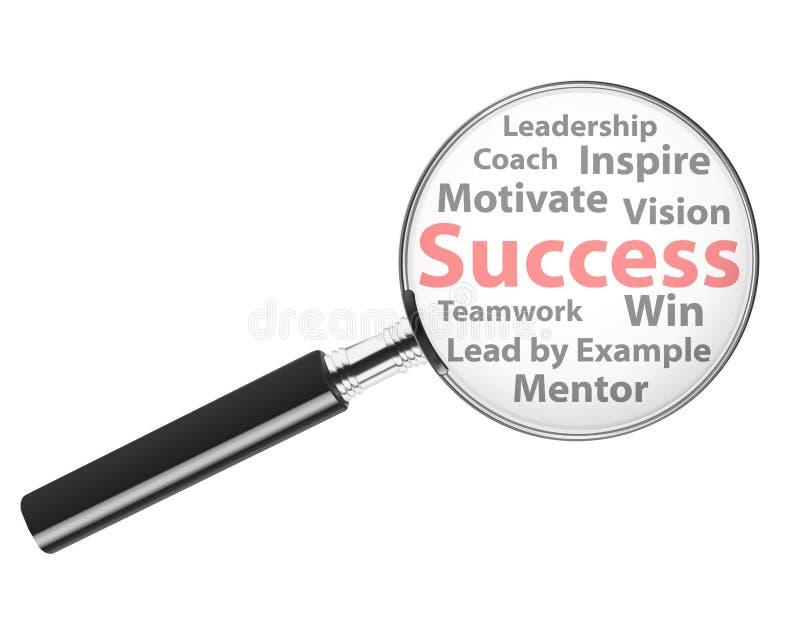 Business success stock illustration