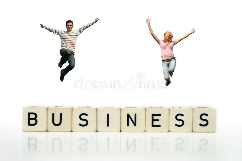 Download Business Success stock image. Image of character, laughter - 2262267