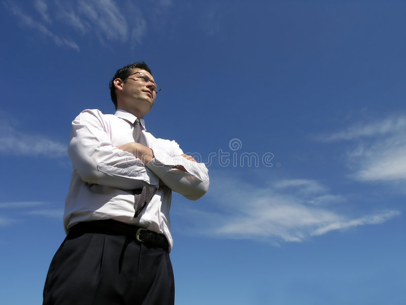 Business success! royalty free stock photo