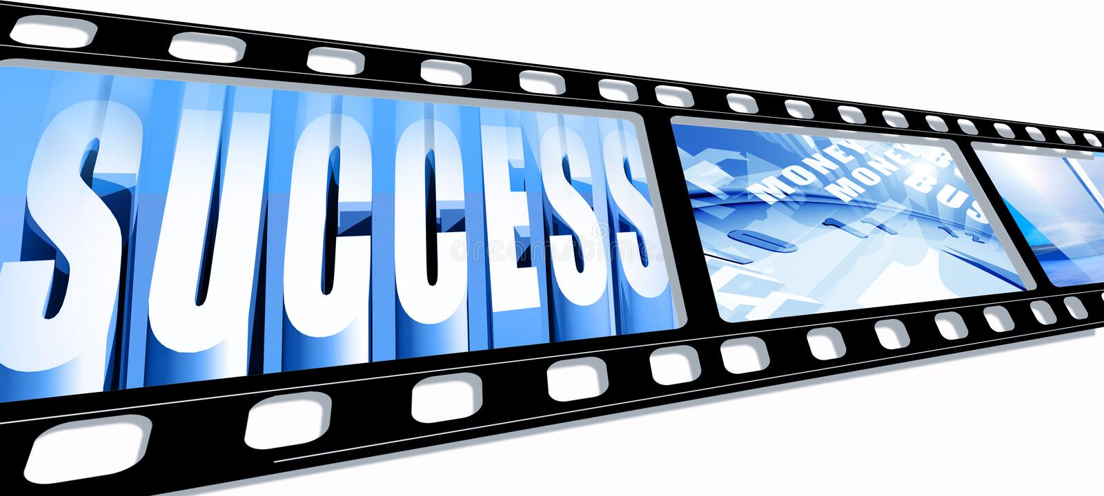 Business success royalty free stock images