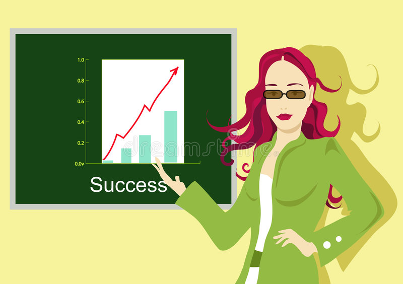 Download Business success stock illustration. Illustration of business - 461644