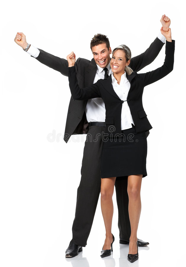Business success royalty free stock image