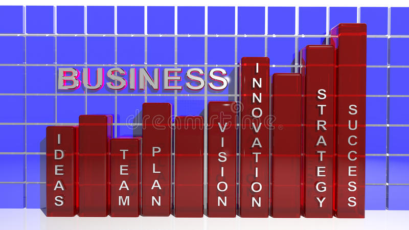 Business Success Graph Royalty Free Stock Photo
