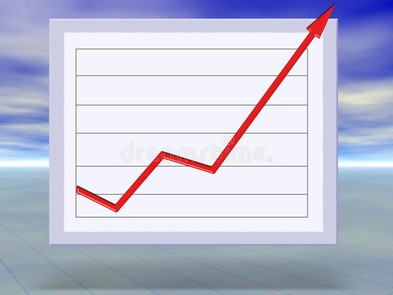 Download Business Success And Growth Graph Concept Stock Illustration - Illustration: 9592270