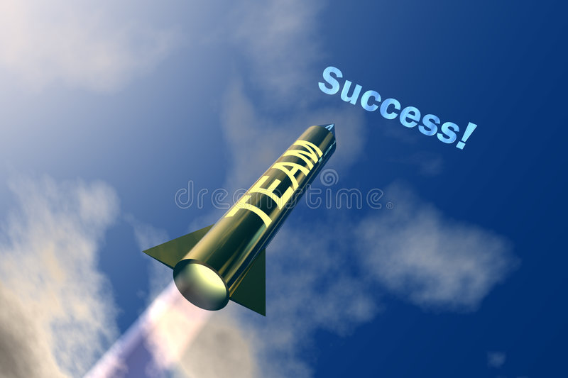 Business Success1 royalty free illustration