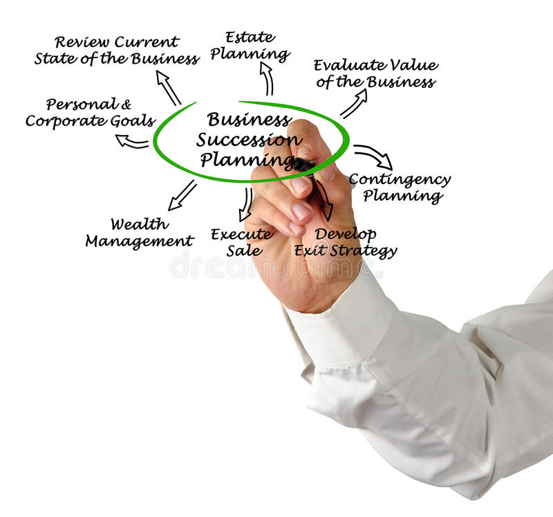 Business Succession Planning royalty free stock photo