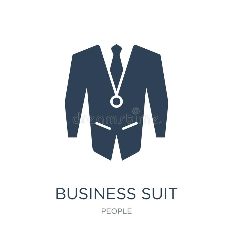 business suit icon in trendy design style. business suit icon isolated on white background. business suit vector icon simple and stock illustration