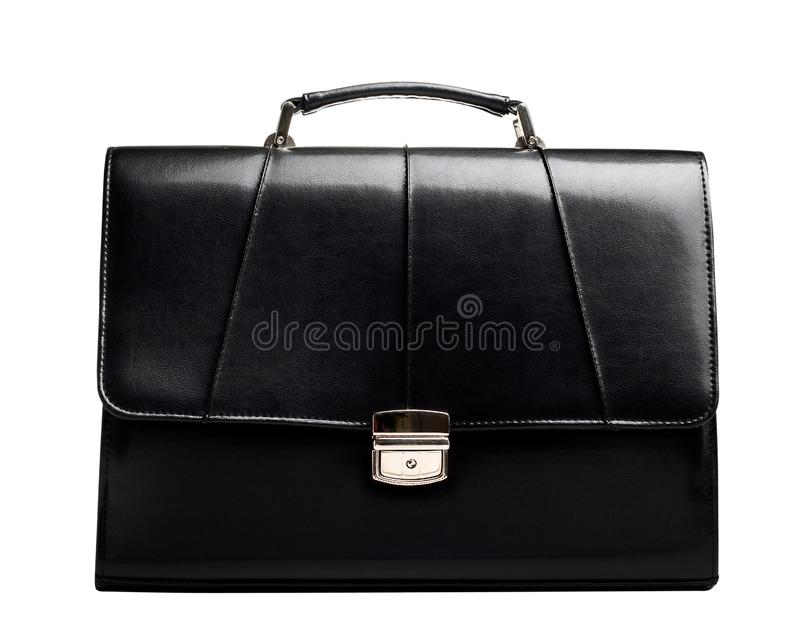 Business suitcase isolated stock images
