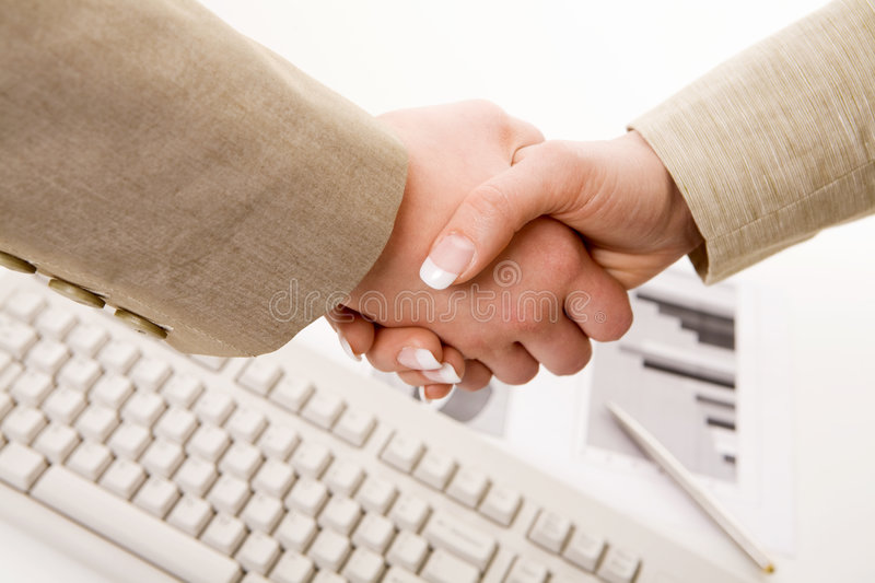 Business support stock image