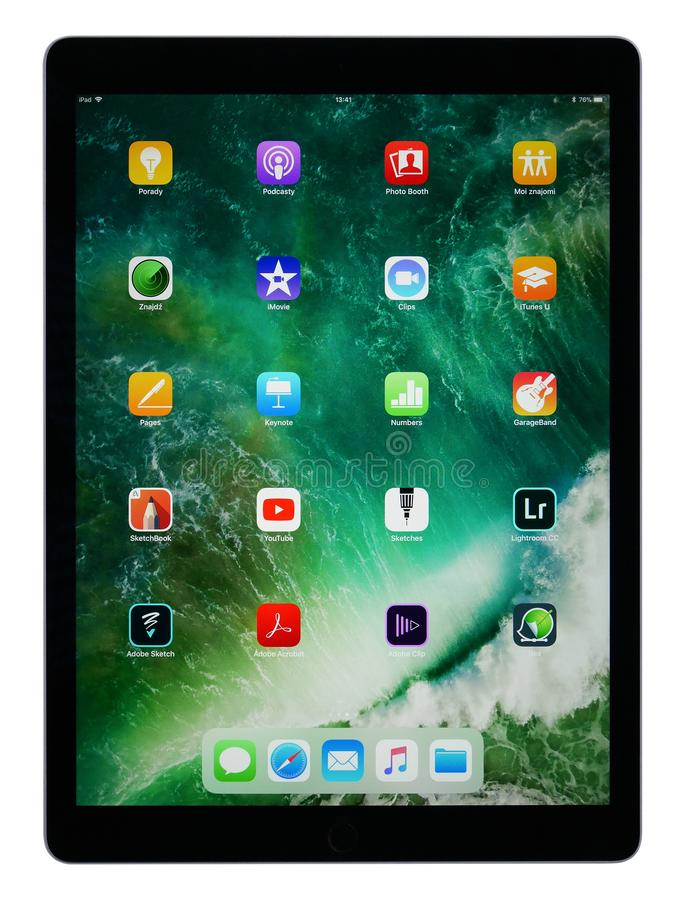 Business Tablet IPad Pro 12,9 stock images