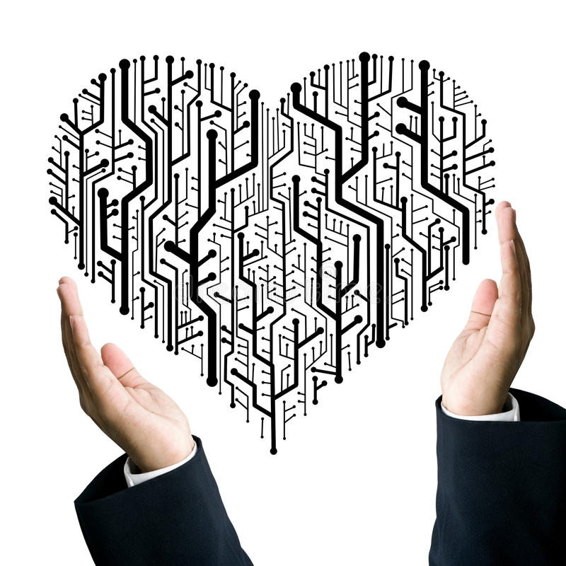 Download Business Take Care The Heart Stock Illustration - Image: 22578853