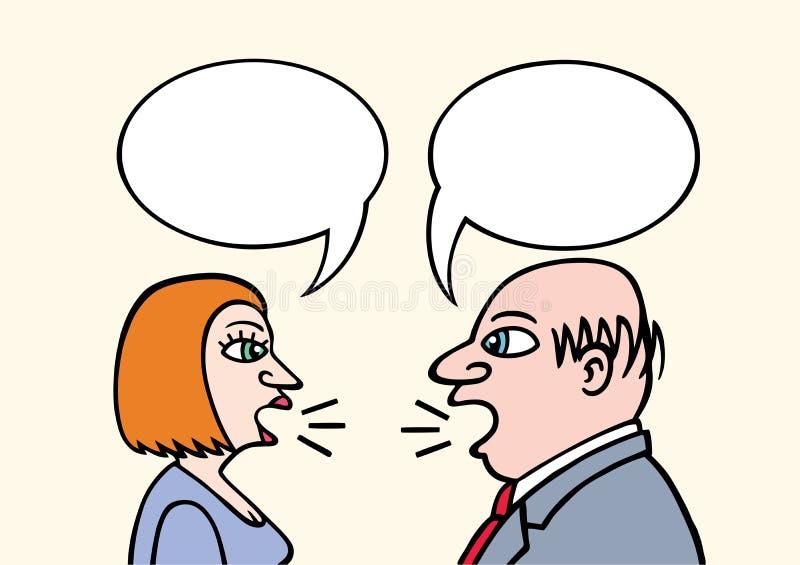 Download Business Talk stock vector. Image of listening, talking - 20428198