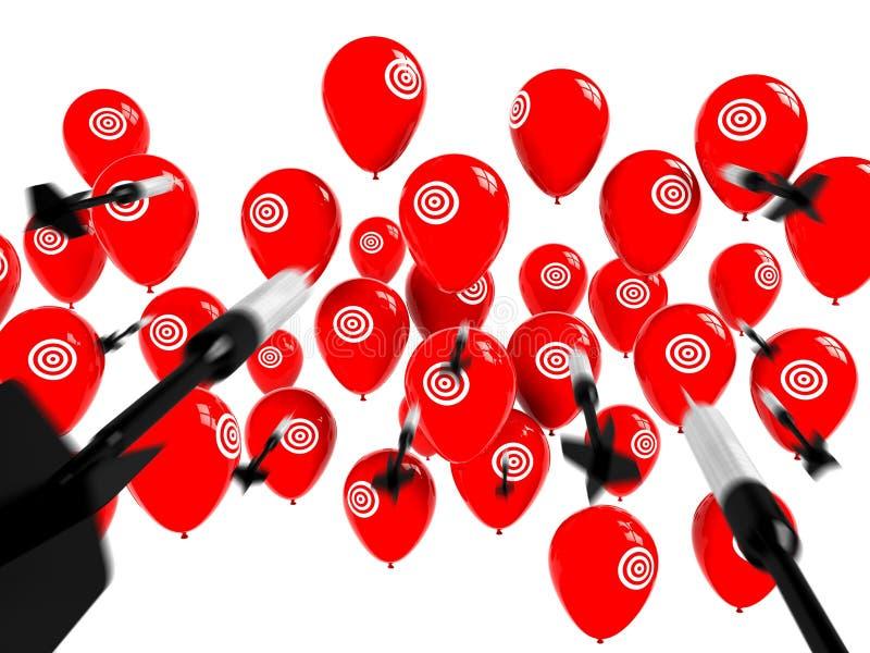 Download Business Target, Aspiration And Success Stock Illustration - Image: 20386270