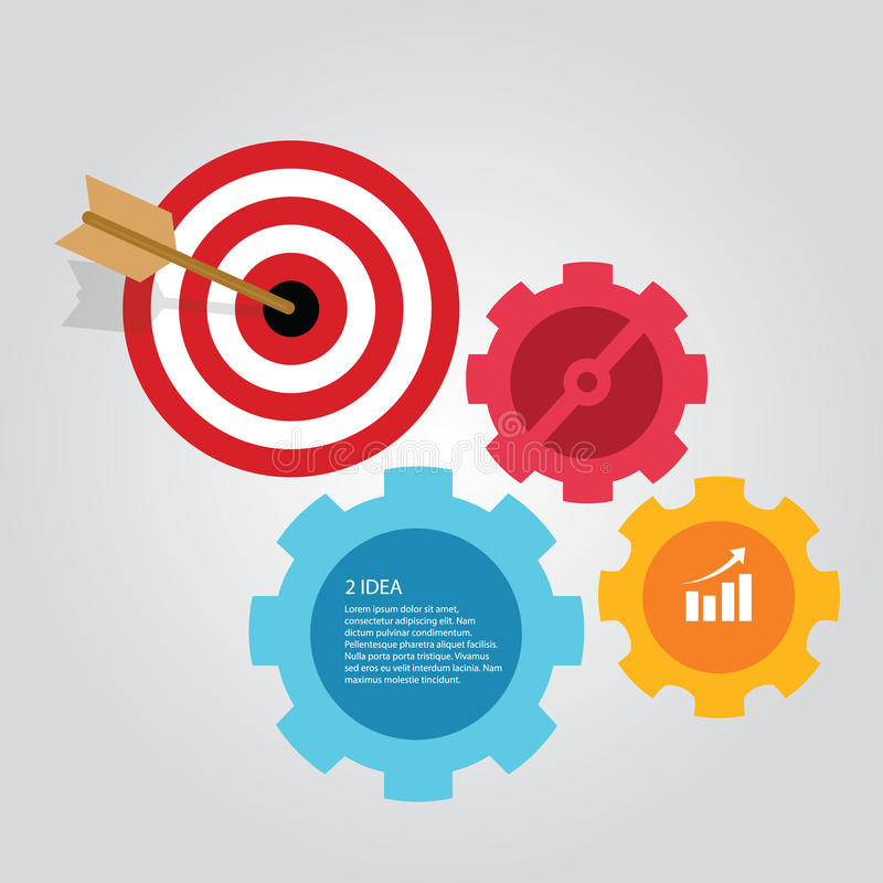 Business target infographic dart board arrow concept of goals download business target infographic dart board arrow concept of goals achievement world map stock vector gumiabroncs Image collections