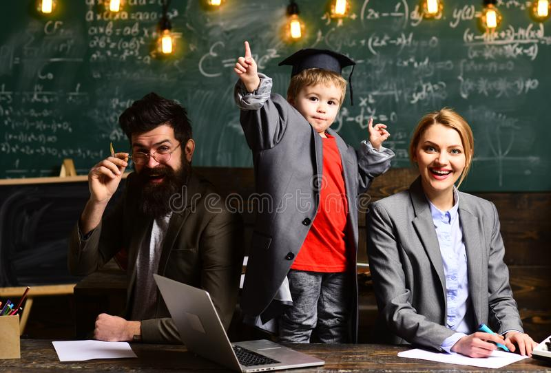 Business. Teacher is skilled he must also have the parents trust. Tutor needs to be enthusiastic and needs to like his royalty free stock photo