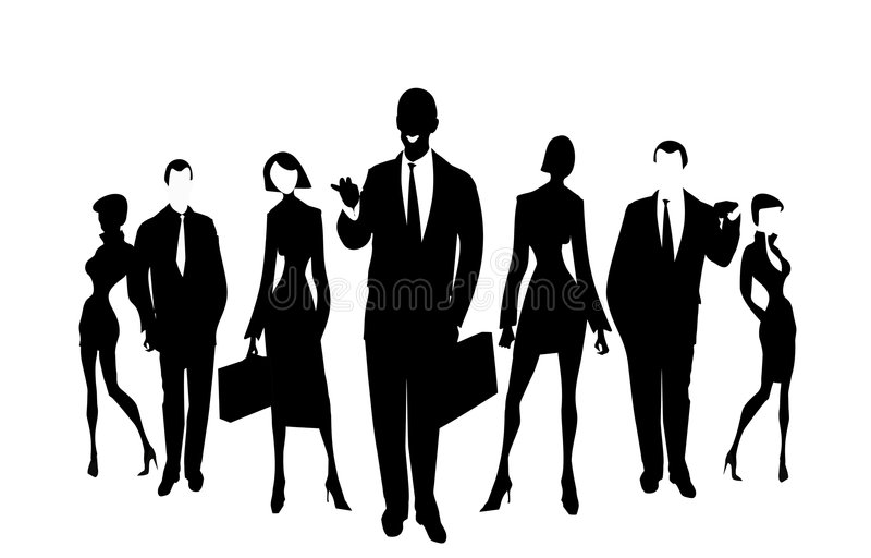 Business team 03 stock image