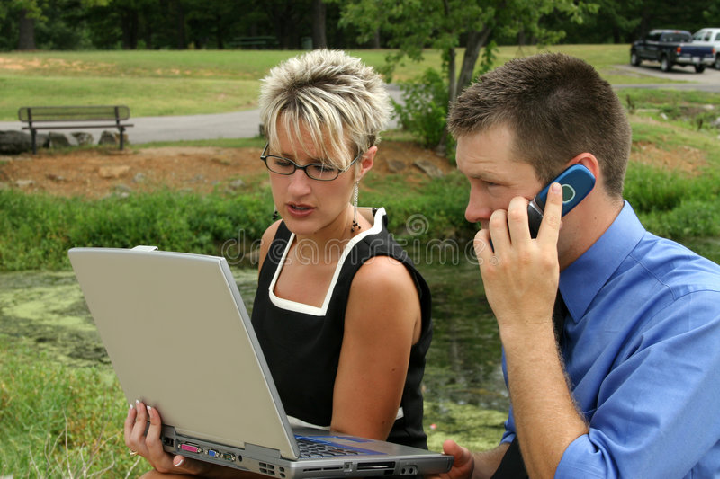 Download Business Team stock photo. Image of outside, caucasian - 1097034