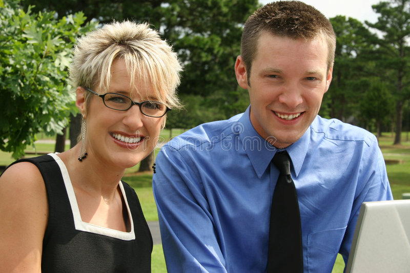 Download Business Team stock photo. Image of couple, woman, american - 1122542